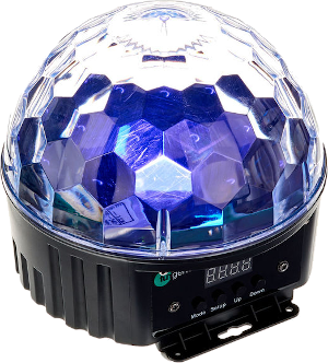 2 x Fun Generation LED Diamond Dome